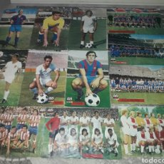 Coleccionismo deportivo: PÓSTERS AS COLOR 1972-73. Lote 166051284