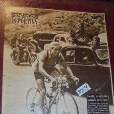 Coleccionismo deportivo: VIDA DEPORTIVA Nº 410 AÑO X - 20 JULIO 1953 - CICLISMO LOROÑO REVELACION ESPAÑOLA EN EL TOUR CHILE 1. Lote 166249790