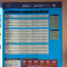 Colecionismo desportivo: FÚTBOL REVISTA DON BALÓN 2003 2004 SD EIBAR HOJA CON LOS JUGADORES. Lote 166692318