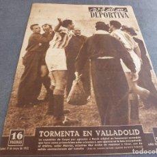 Colecionismo desportivo: VIDA DEPORTIVA Nº:349(19-5-52)LUIS ROMERO(BOXEO)BARÇA Y VALENCIA A LA FINAL DE COPA!!LOS MONTAÑEROS. Lote 167089466