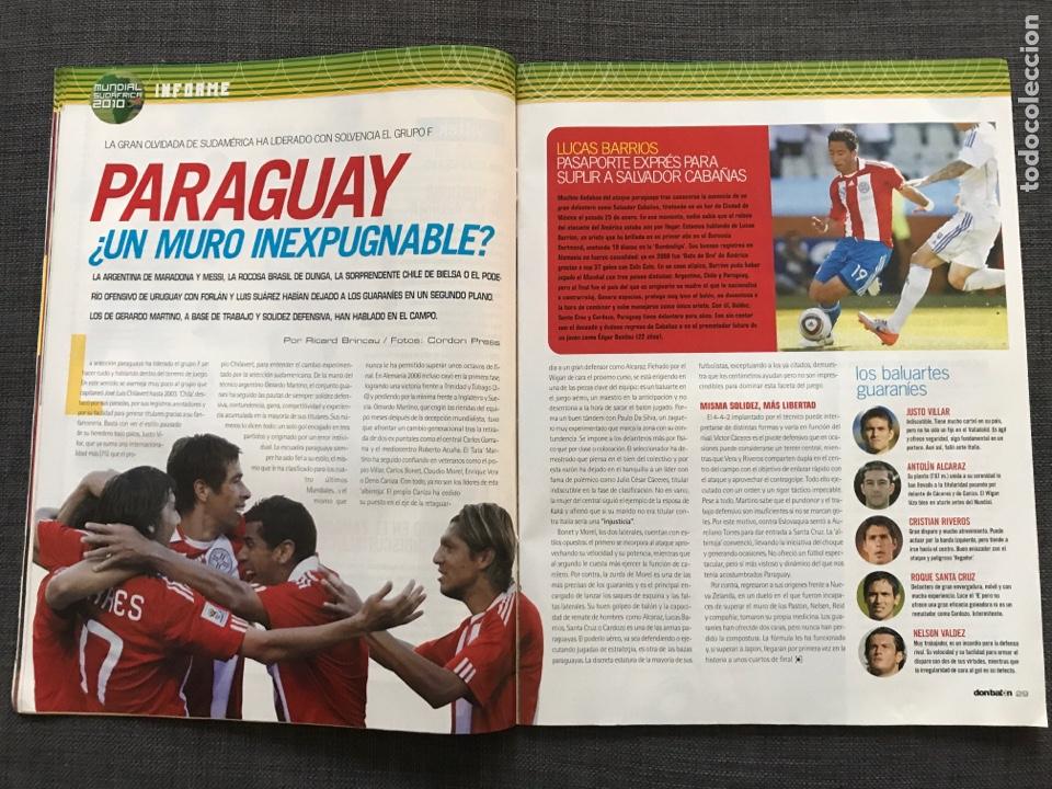 Coleccionismo deportivo: Don balón 1809 - Mundial Sudáfrica - España - Xavi - Póster Messi Argentina - Levante - Abreu - Foto 6 - 167147398