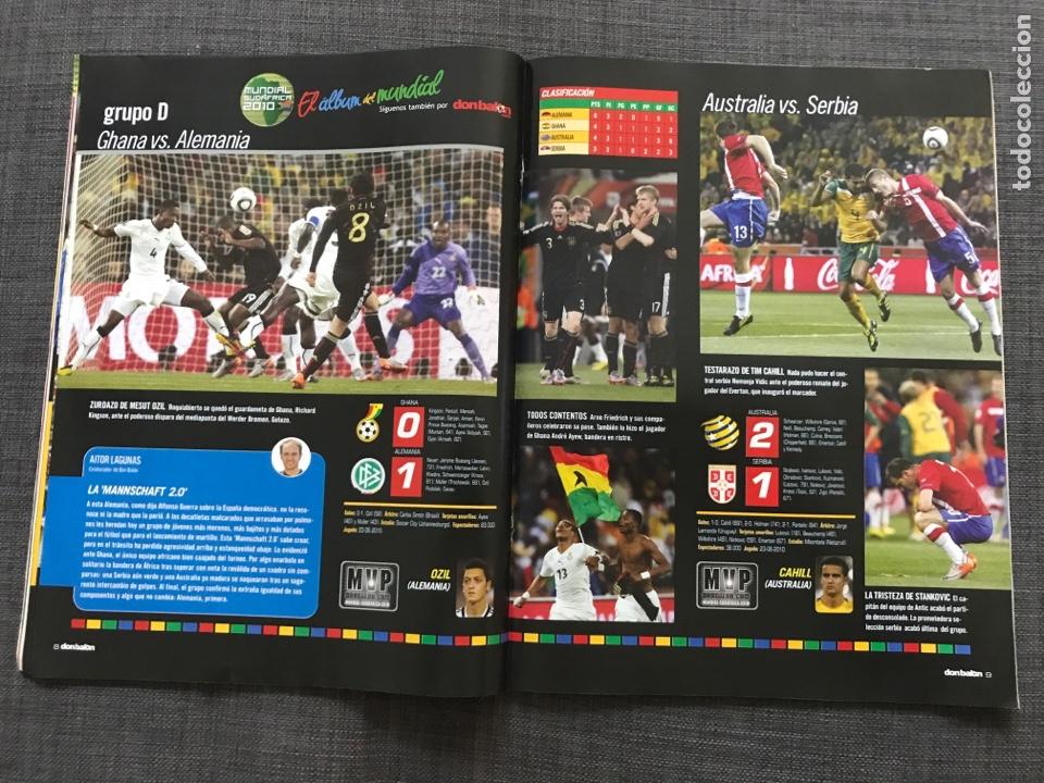Coleccionismo deportivo: Don balón 1809 - Mundial Sudáfrica - España - Xavi - Póster Messi Argentina - Levante - Abreu - Foto 7 - 167147398