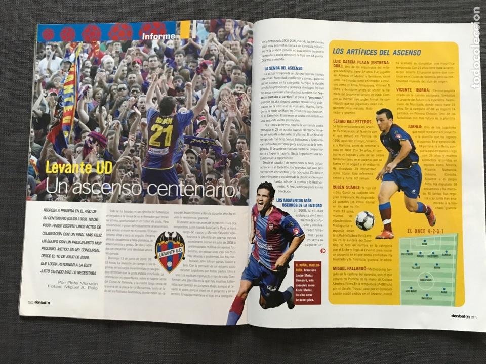 Coleccionismo deportivo: Don balón 1809 - Mundial Sudáfrica - España - Xavi - Póster Messi Argentina - Levante - Abreu - Foto 8 - 167147398