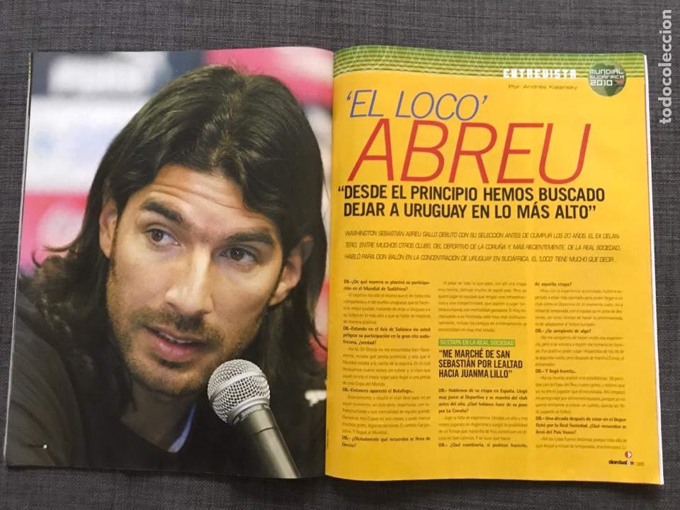 Coleccionismo deportivo: Don balón 1809 - Mundial Sudáfrica - España - Xavi - Póster Messi Argentina - Levante - Abreu - Foto 9 - 167147398