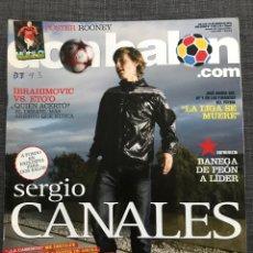 Coleccionismo deportivo: DON BALÓN 1793 - CANALES - PÓSTER ROONEY - BANEGA - ETO'O - IBRAHIMOVIC - ESPAÑA. Lote 167159978