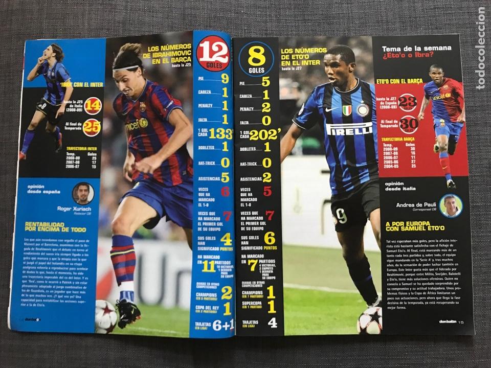 Coleccionismo deportivo: Don balón 1793 - Canales - Póster Rooney - Banega - Eto'o - Ibrahimovic - España - Foto 4 - 167159978