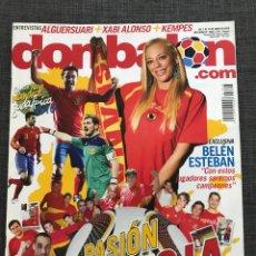 Coleccionismo deportivo: DON BALÓN 1806 - ESPECIAL MUNDIAL SUDÁFRICA 2010 - ESPAÑA - XABI ALONSO - PÓSTER VILLA - KEMPES. Lote 167161801