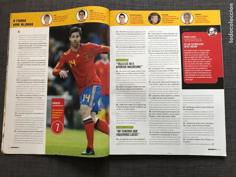Coleccionismo deportivo: Don balón 1806 - Especial Mundial Sudáfrica 2010 - España - Xabi Alonso - Póster Villa - Kempes - Foto 3 - 167161801