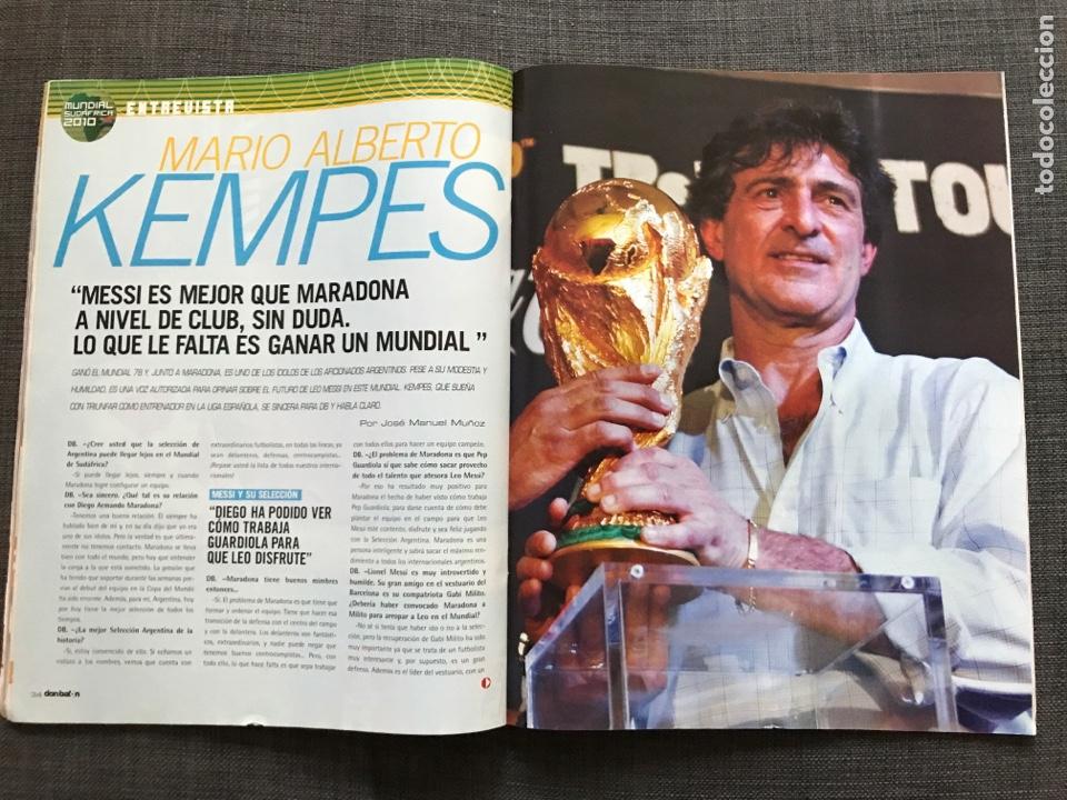Coleccionismo deportivo: Don balón 1806 - Especial Mundial Sudáfrica 2010 - España - Xabi Alonso - Póster Villa - Kempes - Foto 5 - 167161801
