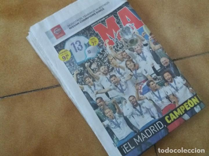 Coleccionismo deportivo: Periódico deportivo Marca. Decimotercera Champions. Real Madrid. 27 Mayo 2018. Liverpool. - Foto 4 - 167193548