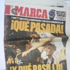 Coleccionismo deportivo: PERIÓDICO MARCA - 31 LIGAS REAL MADRID. Lote 167587672
