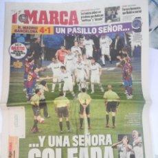Coleccionismo deportivo: PERIÓDICO MARCA - PASILLO DE BARCELONA AL REAL MADRID. Lote 167587712