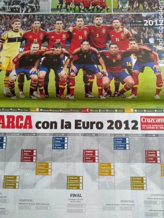 Coleccionismo deportivo: Guía Marca Eurocopa 2012 - Foto 2 - 167720828