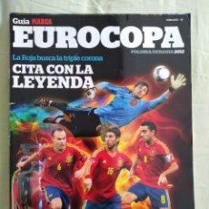 Coleccionismo deportivo: GUÍA MARCA EUROCOPA 2012. Lote 167720828