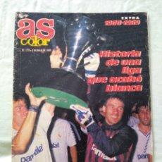 Coleccionismo deportivo: AS COLOR 177 EXTRA LIGA 1988-89 PÓSTER INCLUIDO. Lote 167723210