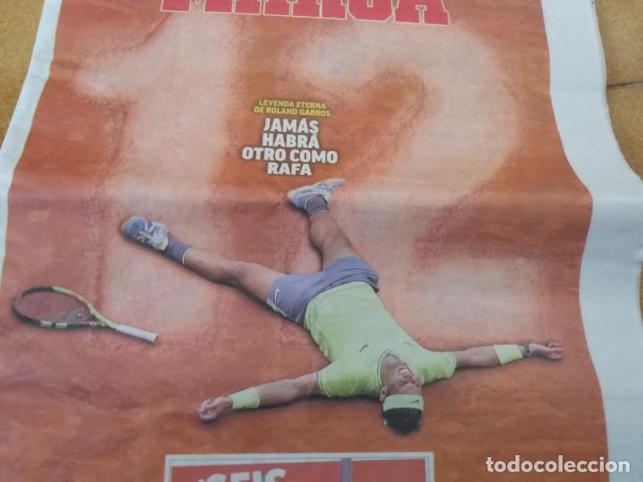 Coleccionismo deportivo: Periódico deportivo Marca. Rafa Nadal. Duodécimo Roland Garros. 9 de Junio 2019. - Foto 2 - 167851520