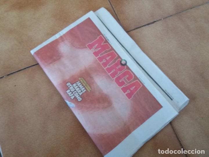 Coleccionismo deportivo: Periódico deportivo Marca. Rafa Nadal. Duodécimo Roland Garros. 9 de Junio 2019. - Foto 4 - 167851520