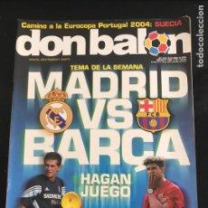 Coleccionismo deportivo: FÚTBOL DON BALÓN 1488 - PÓSTER MISTA - MADRID - BARCELONA - DJALMINHA DEPORTIVO - NEWELLS OLD BOYS. Lote 168250090