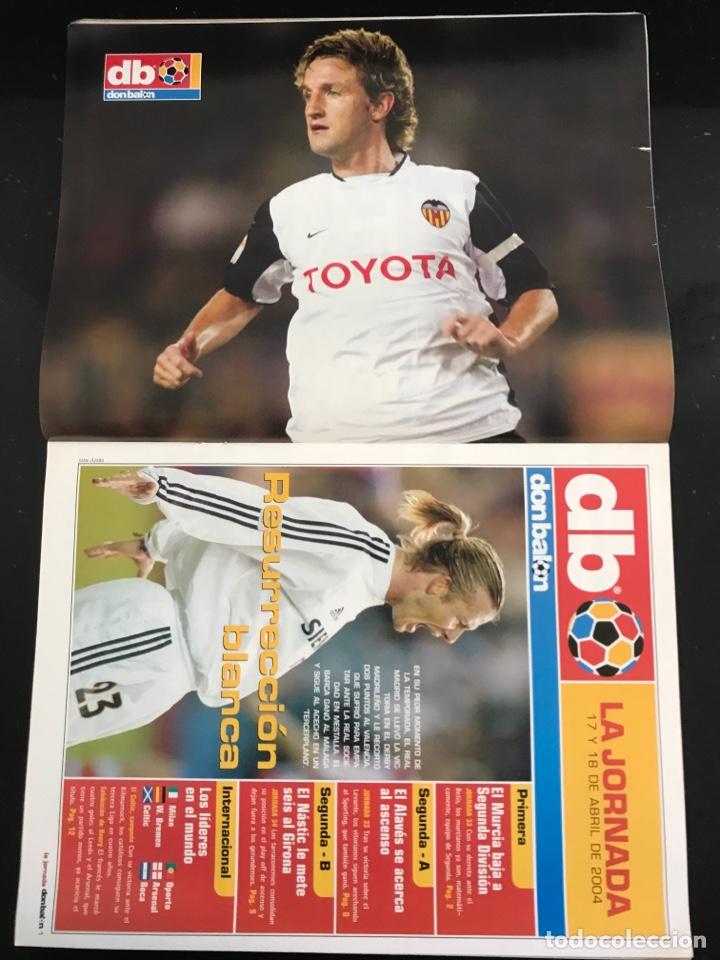 Coleccionismo deportivo: Fútbol don balón 1488 - Póster Mista - Madrid - Barcelona - Djalminha Deportivo - Newells Old boys - Foto 2 - 168250090
