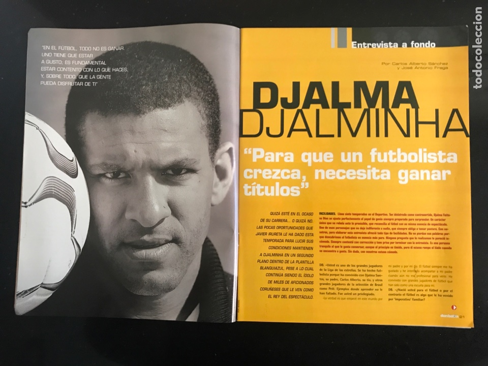 Coleccionismo deportivo: Fútbol don balón 1488 - Póster Mista - Madrid - Barcelona - Djalminha Deportivo - Newells Old boys - Foto 3 - 168250090