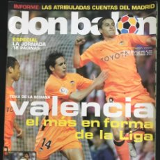 Coleccionismo deportivo: FÚTBOL DON BALÓN 1489 - VALENCIA - MADRID - BARCELONA - PÓSTER PANDIANI DEPORTIVO - VALDO OSASUNA. Lote 168250954