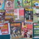 Coleccionismo deportivo: 12 CALENDARIOS DE FUTBOL DON BALÓN. Lote 168293784