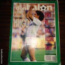 Coleccionismo deportivo: DON BALON Nº 780 HUGO SANCHEZ HAGI REAL MADRID FERRER STOICHKOV BARCELONA. Lote 168682248