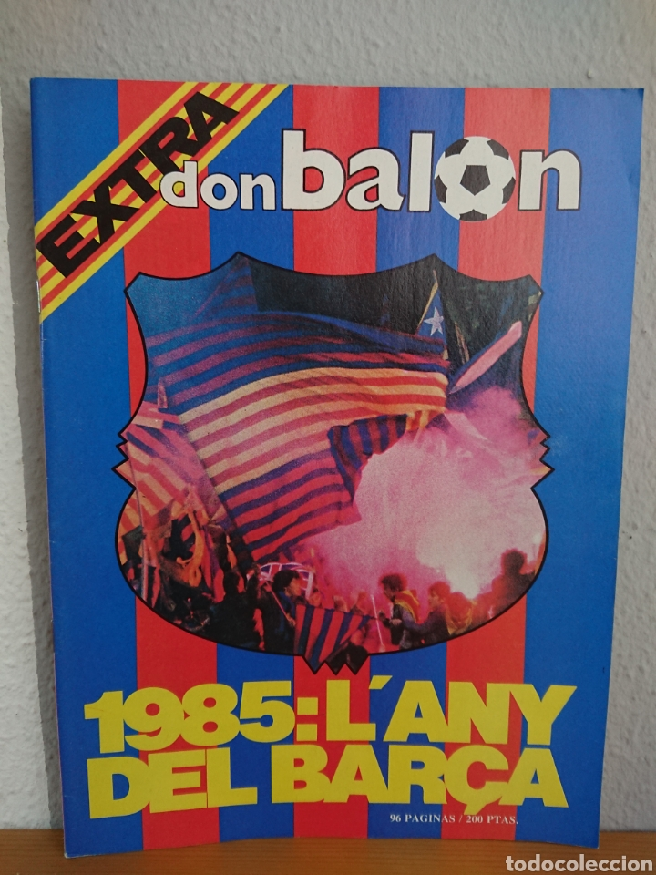 EXTRA DON BALÓN 1985 : L ANY DEL BARÇA / 96 PÁGINAS, EXCELENTE ESTADO FC BARCELONA (Coleccionismo Deportivo - Revistas y Periódicos - Don Balón)