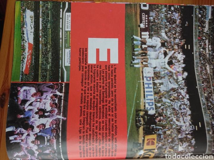 Coleccionismo deportivo: EXTRA DON BALON 85/86 UNA LIGA BLANCA REAL MADRID / EXCELENTE ESTADO - Foto 3 - 168834541