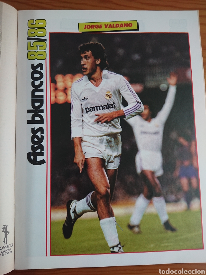 Coleccionismo deportivo: EXTRA DON BALON 85/86 UNA LIGA BLANCA REAL MADRID / EXCELENTE ESTADO - Foto 4 - 168834541