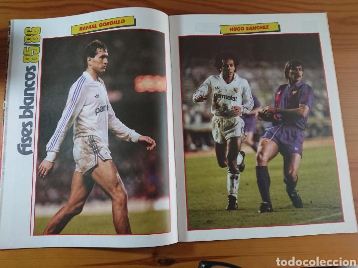 Coleccionismo deportivo: EXTRA DON BALON 85/86 UNA LIGA BLANCA REAL MADRID / EXCELENTE ESTADO - Foto 5 - 168834541