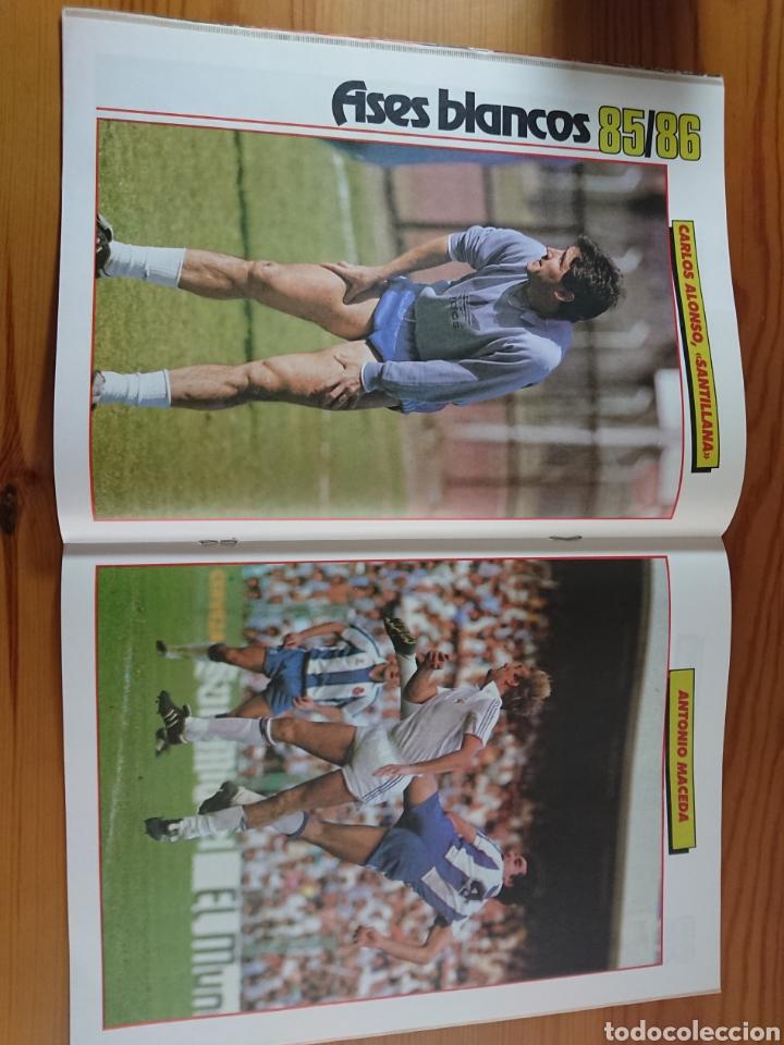 Coleccionismo deportivo: EXTRA DON BALON 85/86 UNA LIGA BLANCA REAL MADRID / EXCELENTE ESTADO - Foto 6 - 168834541