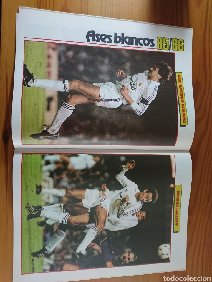 Coleccionismo deportivo: EXTRA DON BALON 85/86 UNA LIGA BLANCA REAL MADRID / EXCELENTE ESTADO - Foto 7 - 168834541