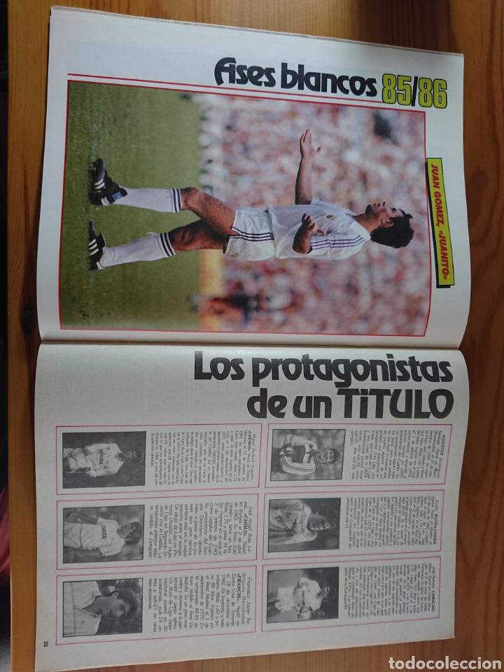 Coleccionismo deportivo: EXTRA DON BALON 85/86 UNA LIGA BLANCA REAL MADRID / EXCELENTE ESTADO - Foto 8 - 168834541