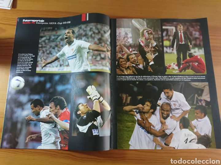 Coleccionismo deportivo: EXTRA DON BALÓN N°84 SEVILLA CAMPEÓN UEFA CUP LEAGUE 05-06 - Foto 4 - 168835636