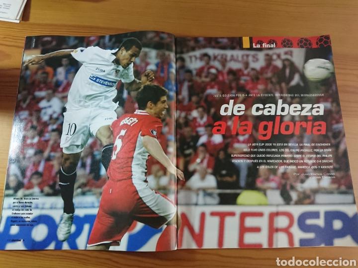 Coleccionismo deportivo: EXTRA DON BALÓN N°84 SEVILLA CAMPEÓN UEFA CUP LEAGUE 05-06 - Foto 5 - 168835636