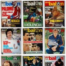 Coleccionismo deportivo: REVISTAS DON BALÓN. Lote 168873516