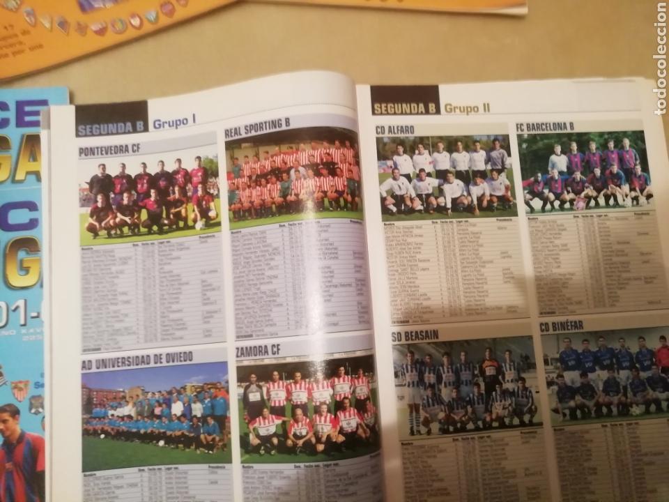 Coleccionismo deportivo: Don balon. APÉNDICE Extra liga 2001 2002. - Foto 3 - 169094718