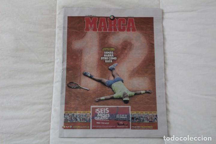 Coleccionismo deportivo: LOTE DIARIO MARCA RAFA NADAL LEYENDA ESPECIALES ROLAND GARROS DOCE Y TRECE.TENIS. - Foto 2 - 169311960