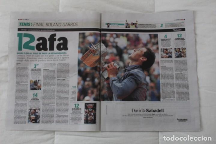 Coleccionismo deportivo: LOTE DIARIO MARCA RAFA NADAL LEYENDA ESPECIALES ROLAND GARROS DOCE Y TRECE.TENIS. - Foto 3 - 169311960