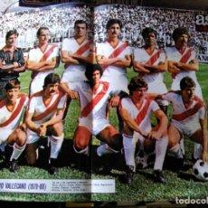 Coleccionismo deportivo: AS COLOR 438 PÓSTER RAYO VALLECANO 1979. Lote 169315184