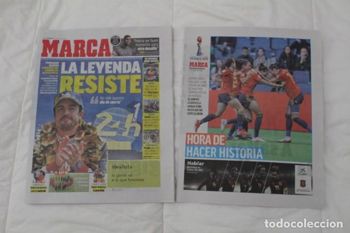 DIARIO MARCA 17/06/2019 LA LEYENDA RESISTE. FERNANDO ALONSO GANA SU SEGUNDO 24 HORAS DE LEMANS (Coleccionismo Deportivo - Revistas y Periódicos - Marca)