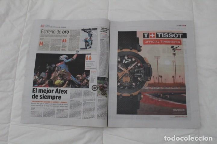 Coleccionismo deportivo: DIARIO MARCA 17/06/2019 LA LEYENDA RESISTE. FERNANDO ALONSO GANA SU SEGUNDO 24 HORAS DE LEMANS - Foto 6 - 169321328