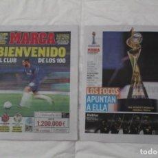 Coleccionismo deportivo: DIARIO MARCA 07/06/2019 BIENVENIDO AL CLUB DE LOS CIEN. HAZARD FICHA POR EL REAL MADRID. Lote 169322036