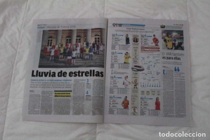 Coleccionismo deportivo: DIARIO MARCA 07/06/2019 BIENVENIDO AL CLUB DE LOS CIEN. HAZARD FICHA POR EL REAL MADRID - Foto 3 - 169322036