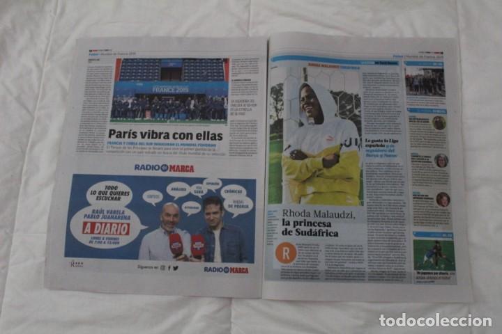 Coleccionismo deportivo: DIARIO MARCA 07/06/2019 BIENVENIDO AL CLUB DE LOS CIEN. HAZARD FICHA POR EL REAL MADRID - Foto 5 - 169322036