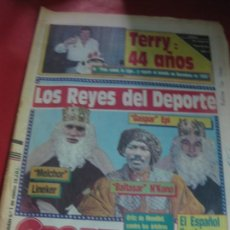 Colecionismo desportivo: SPORT Nº 2573. LOS REYES DEL DEPORTE: LINEKER, EPI, N'KONO, VENABLES... 6 ENERO 1987. Lote 169328364