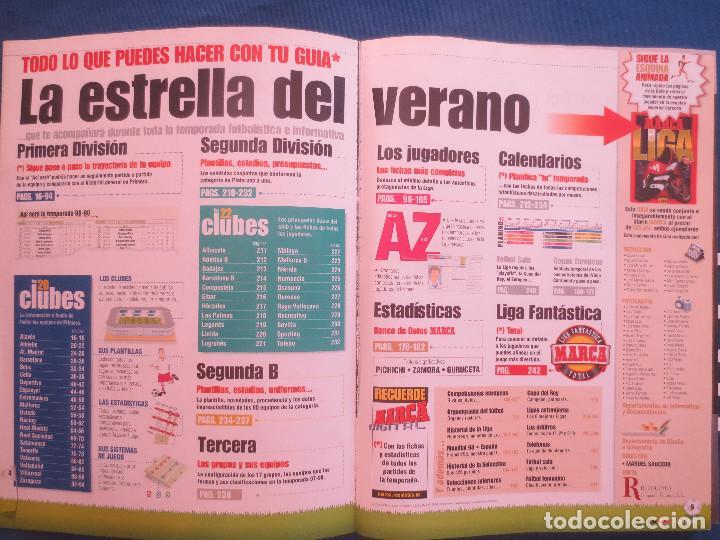 Coleccionismo deportivo: GUÍA MARCA LIGA 98/99 - ANUARIO 1998 - Foto 3 - 169406768