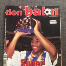 Coleccionismo deportivo: FÚTBOL DON BALÓN 1298 - PÓSTER Y ESPECIAL DEPORTIVO CAMPEÓN - MALLORCA - SUPERCOPA EUROPA - ESPAÑA. Lote 169713540