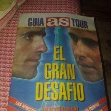 Coleccionismo deportivo: GUIA AS TOUR EL GRAN DESAFÍO - INDURAIN. Lote 169802508